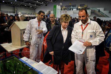 Il segretario della CGIL Susanna Camuso al Maker Faire.